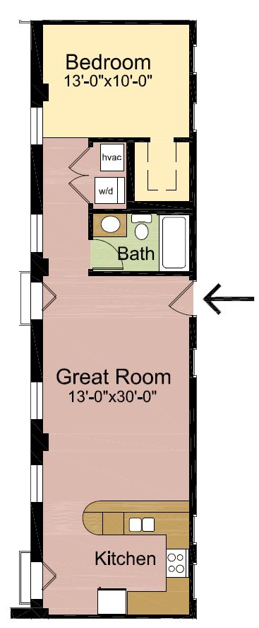 1 Bedroom 1 Bathroom Apartment for rent at The Henry Clay in Louisville, KY
