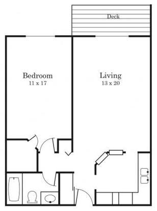 1 Bedroom 1 Bathroom Apartment for rent at Southwood in Bloomington, MN