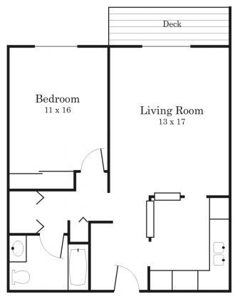1 Bedroom 1 Bathroom Apartment for rent at Westside Village in Hopkins, MN