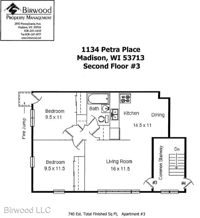 1134-48 Petra Place Madison, WI Apartment For Rent