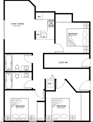 3 Bedrooms 2 Bathrooms Apartment for rent at 2237 Nw 59th St in Seattle, WA