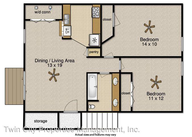 2 Bedrooms 1 Bathroom Apartment for rent at 2505 Pecan Ridge in Bryan, TX
