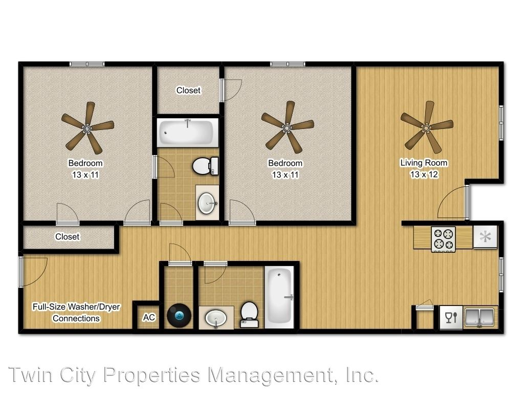 2 Bedrooms 2 Bathrooms Apartment for rent at 3605 Mahan in Bryan, TX