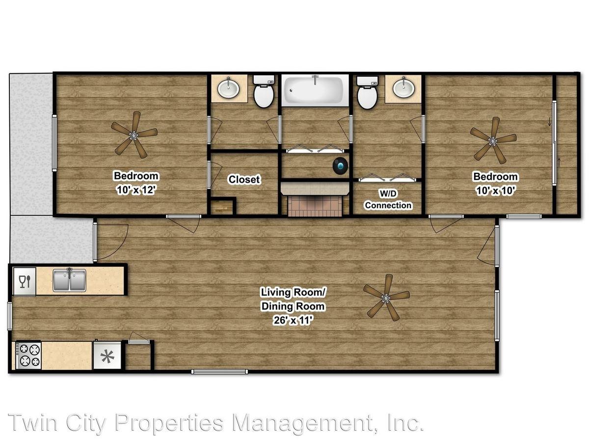 2 Bedrooms 1 Bathroom Apartment for rent at 3706 Elliott in Bryan, TX