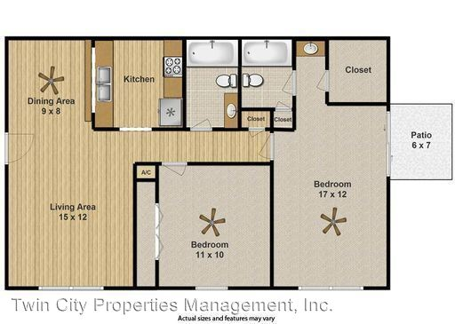 2 Bedrooms 2 Bathrooms Apartment for rent at 500 East 31st St in Bryan, TX