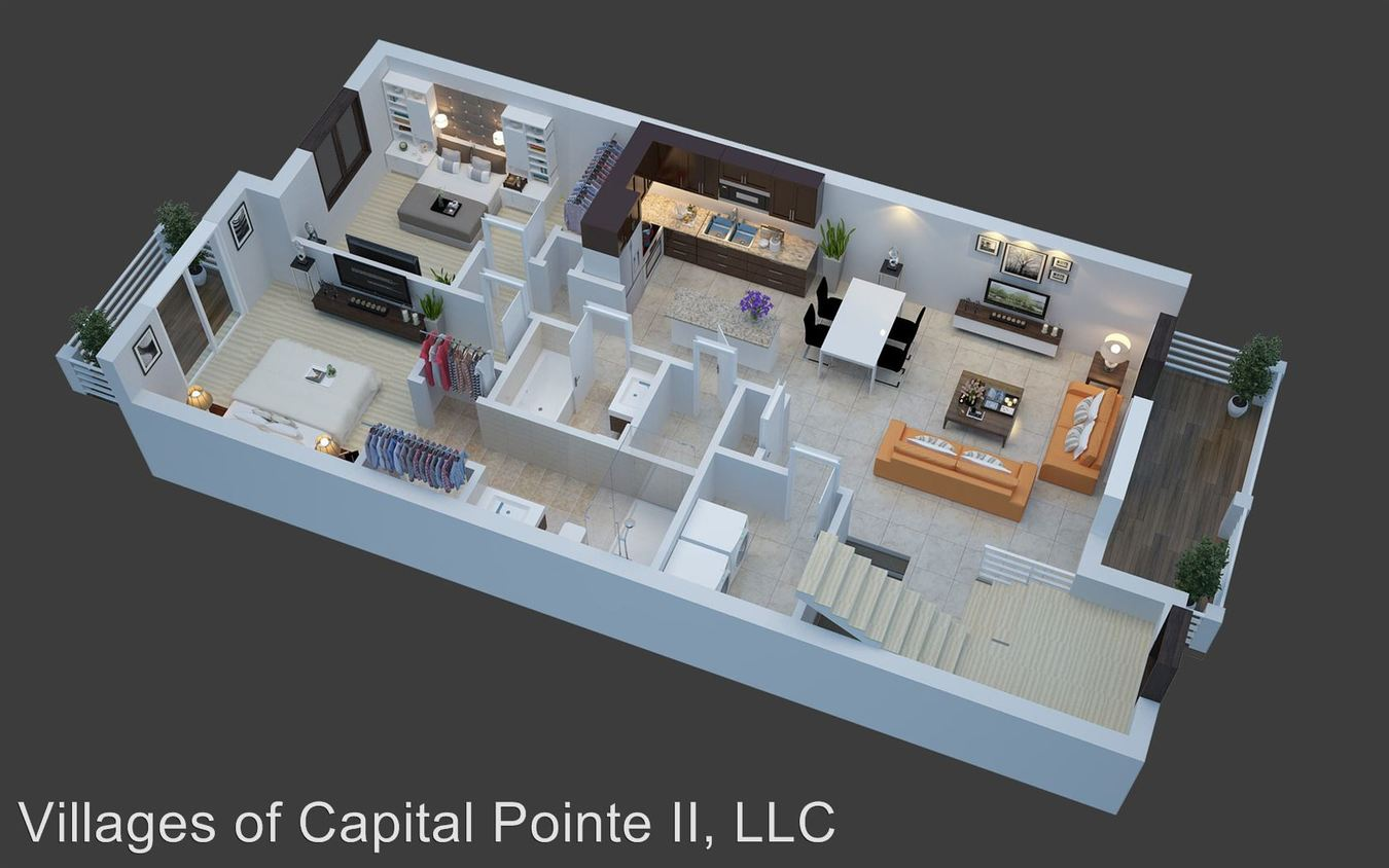 2 Bedrooms 2 Bathrooms Apartment for rent at Capital Circle in Washington, MI