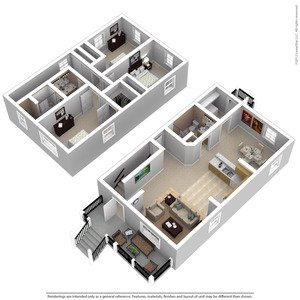 3 Bedrooms 2 Bathrooms Apartment for rent at Gorman Homes in Milwaukee, WI