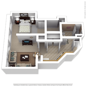 1 Bedroom 1 Bathroom Apartment for rent at Majestic Loft Apartments in Milwaukee, WI