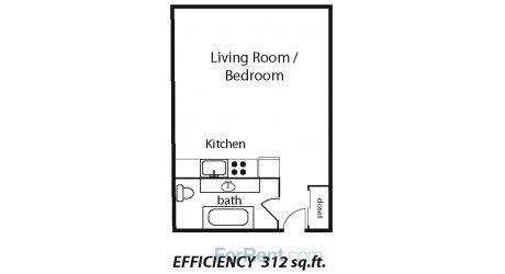 Studio 1 Bathroom Apartment for rent at Audubon Park Place Apartments in Memphis, TN
