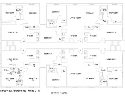 2 Bedrooms 1 Bathroom Apartment for rent at Longview Apartments in Columbus, OH