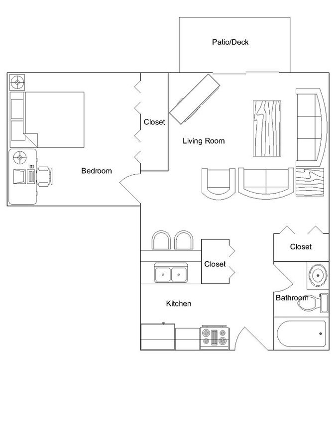 1 Bedroom 1 Bathroom Apartment for rent at Briarwood Apartments in Madison, WI