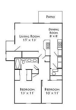 2 Bedrooms 1 Bathroom Apartment for rent at Troy Farms in Delaware, OH