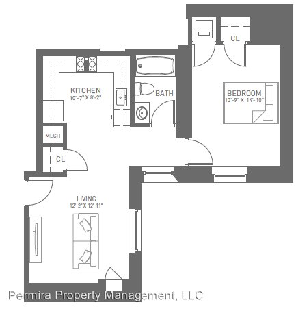 1 Bedroom 1 Bathroom Apartment for rent at 115 N Charles St., in Baltimore, MD
