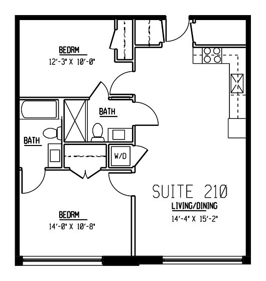2 Bedrooms 2 Bathrooms Apartment for rent at Wonder Bread Lofts in Columbus, OH