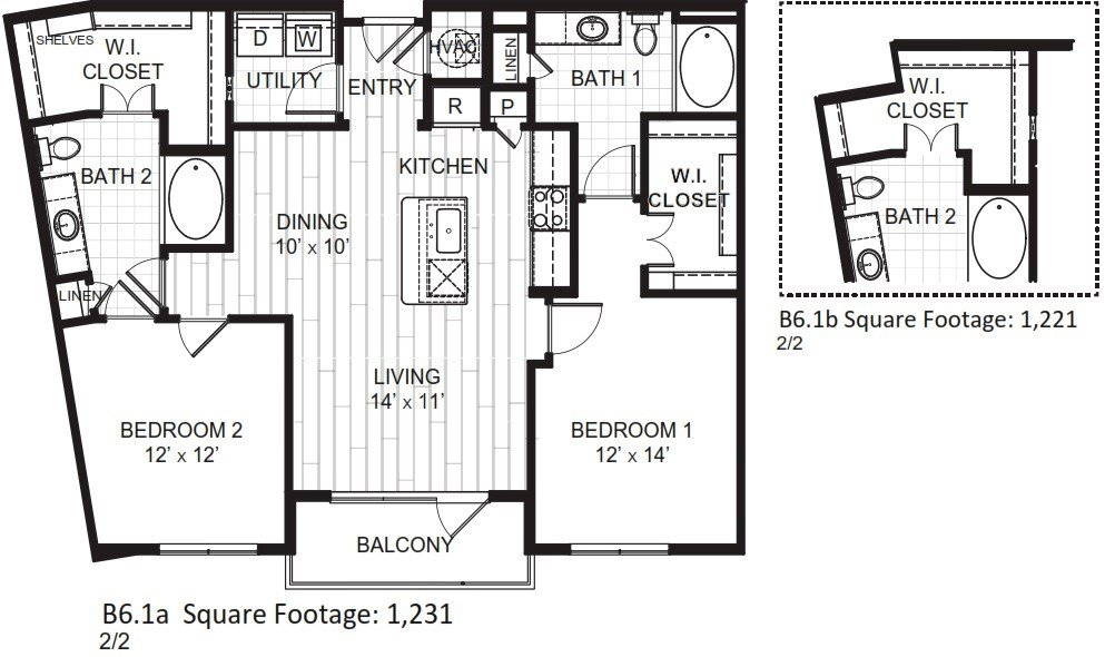 2 Bedrooms 2 Bathrooms Apartment for rent at The Moderne in Scottsdale, AZ