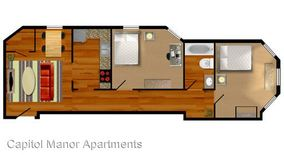 Similar Apartment at 842 N Capitol Ave