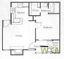 1 Bedroom 1 Bathroom Apartment for rent at 183 And Mcneil in Austin, TX
