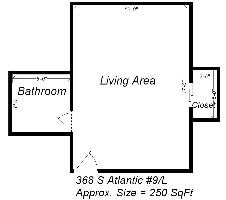 Studio 1 Bathroom Apartment for rent at 368 S Atlantic Ave in Pittsburgh, PA