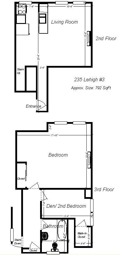 2 Bedrooms 1 Bathroom Apartment for rent at 235 Lehigh Avenue in Pittsburgh, PA