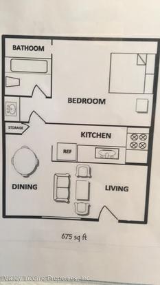 1 Bedroom 1 Bathroom Apartment for rent at 2735 E Thomas Rd in Phoenix, AZ