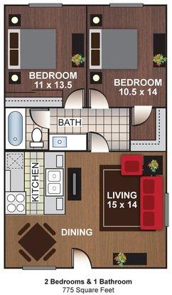 2 Bedrooms 1 Bathroom Apartment for rent at Cascada Del Sol Apartments in Phoenix, AZ