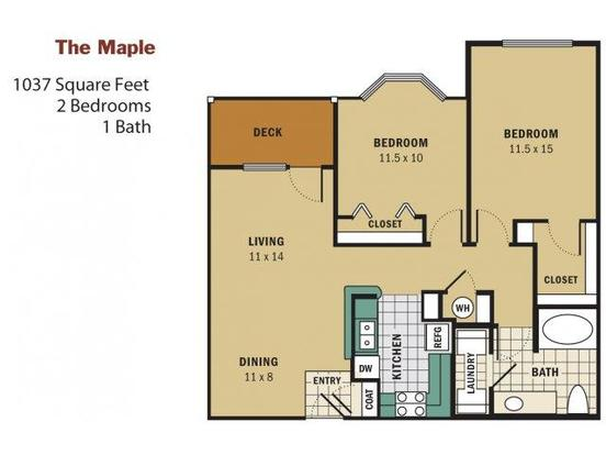 2 Bedrooms 1 Bathroom Apartment for rent at Reserve At Wauwatosa Village in Wauwatosa, WI