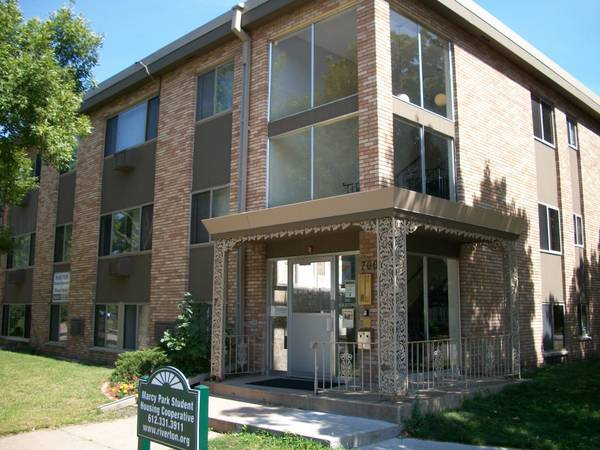 Marcy Park Student Housing Co-op $645-$775