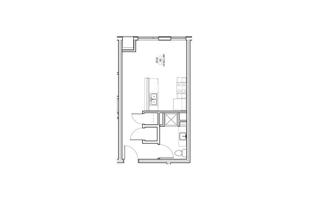 Studio 1 Bathroom Apartment for rent at Ivy on Fourteenth in Milwaukee, WI