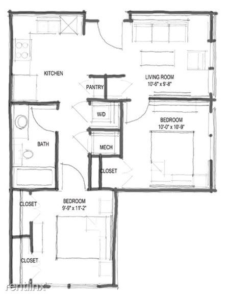 2 Bedrooms 1 Bathroom Apartment for rent at Corazon in Austin, TX