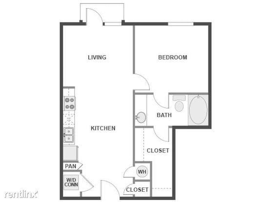 1 Bedroom 1 Bathroom House for rent at North Lamar Property Id 769595 in Austin, TX