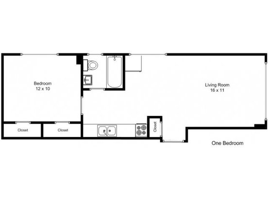 1 Bedroom 1 Bathroom Apartment for rent at 3523 Grand  in Minneapolis, MN