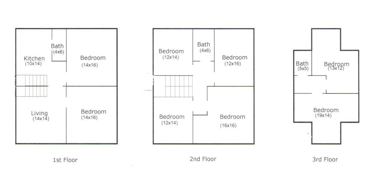 Studio 3 Bathrooms House for rent at 1645 North 4th Street in Columbus, OH