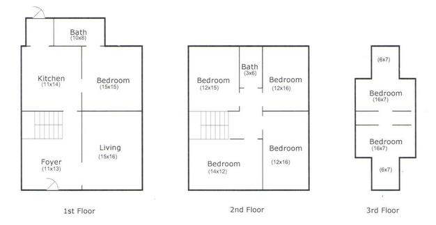 Studio 2 Bathrooms House for rent at 1665 North 4th Street in Columbus, OH
