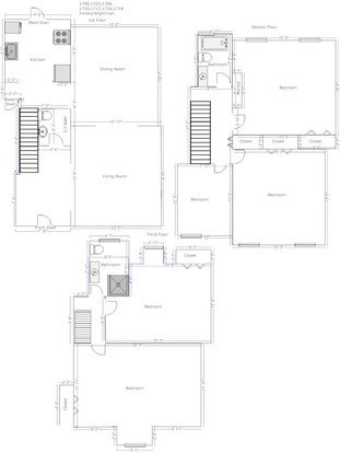 4 Bedrooms 2 Bathrooms Apartment for rent at Walnut on Wightman in Pittsburgh, PA