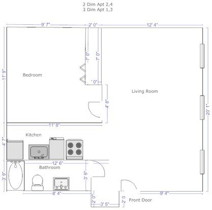 1 Bedroom 1 Bathroom Apartment for rent at University Commons in Pittsburgh, PA