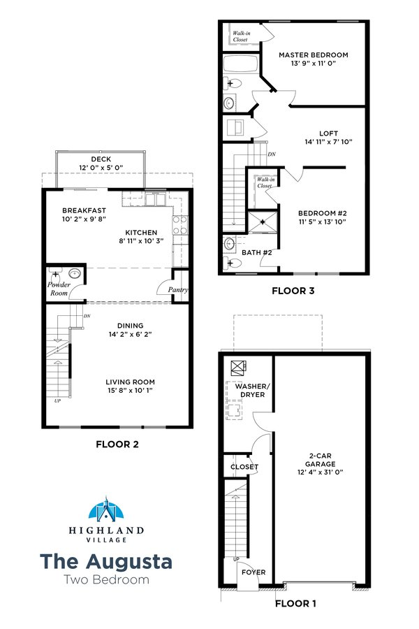 2 Bedrooms 2 Bathrooms Apartment for rent at Highland Village in Pittsburgh, PA
