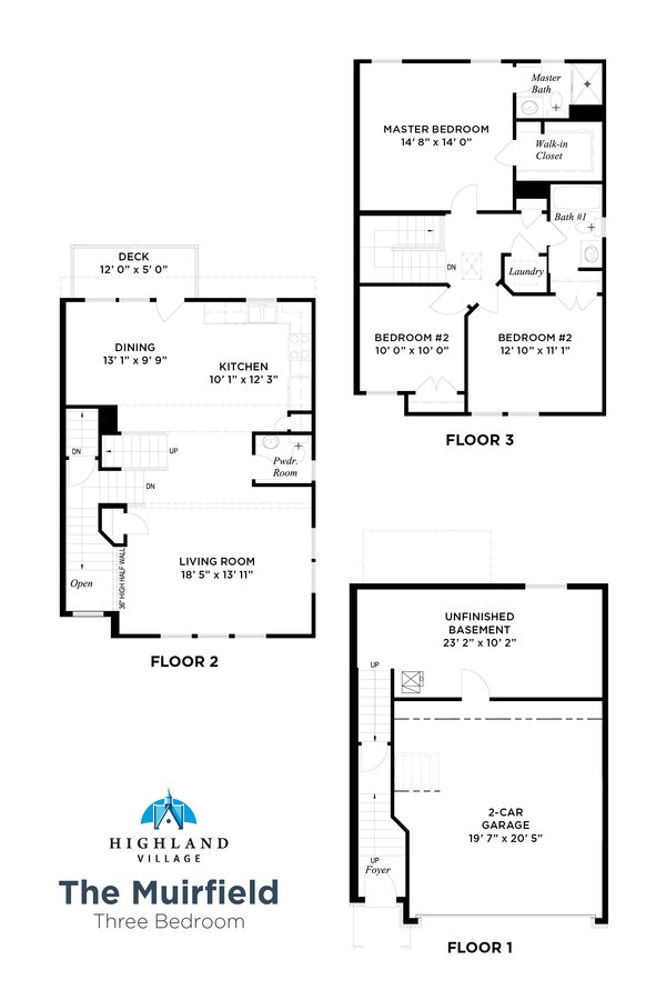 3 Bedrooms 2 Bathrooms Apartment for rent at Highland Village in Pittsburgh, PA