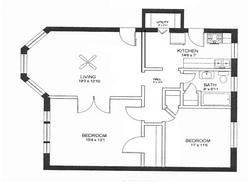 2 Bedrooms 1 Bathroom Apartment for rent at Cavalier Apartments in Louisville, KY