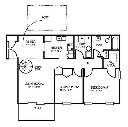 2 Bedrooms 1 Bathroom Apartment for rent at Clearwater Farm Apartment Homes in Louisville, KY