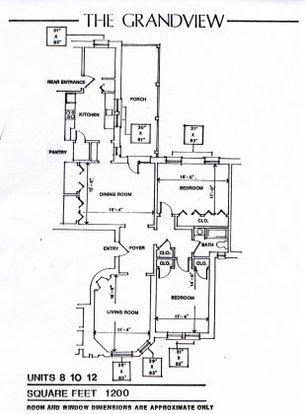 2 Bedrooms 1 Bathroom Apartment for rent at Grandview Apartments in Cincinnati, OH