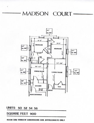 2 Bedrooms 1 Bathroom Apartment for rent at Madison Court in Cincinnati, OH