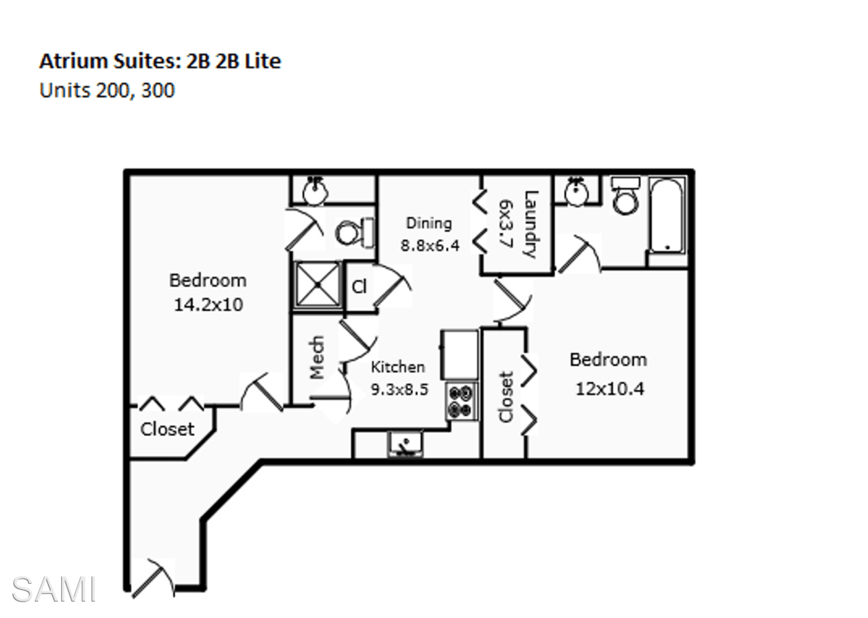 2 Bedrooms 2 Bathrooms Apartment for rent at 502 W Laurel St. in Fort Collins, CO