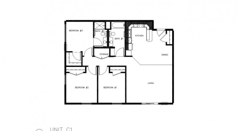 3 Bedrooms 2 Bathrooms Apartment for rent at The Meadows in Rochester, MN