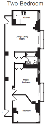 2 Bedrooms 1 Bathroom Apartment for rent at Buena Terrace in Chicago, IL