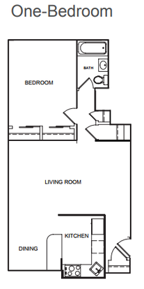 1 Bedroom 1 Bathroom Apartment for rent at Kenmore Place in Chicago, IL
