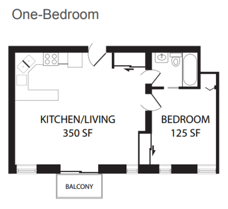 1 Bedroom 1 Bathroom Apartment for rent at Lincoln Square Commons in Chicago, IL