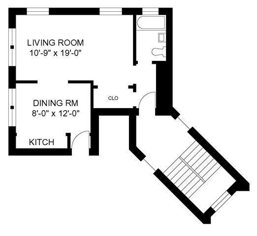 Studio 1 Bathroom Apartment for rent at Glenlake & Winthrop in Chicago, IL