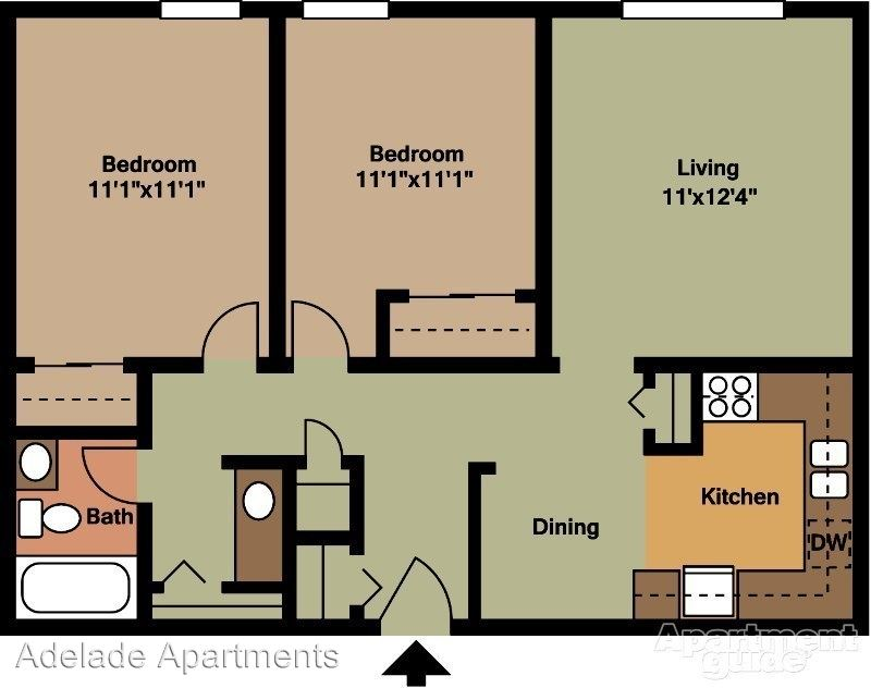 2 Bedrooms 1 Bathroom Apartment for rent at 2701 Sevier Avenue in Knoxville, TN
