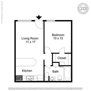1 Bedroom 1 Bathroom Apartment for rent at Twenty Oaks Apartments in Arlington, TX