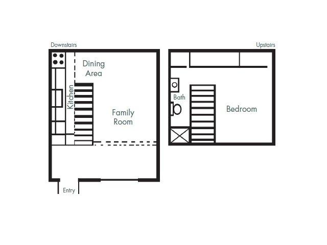 1 Bedroom 1 Bathroom Apartment for rent at Pinewood Apartments in Arlington, TX